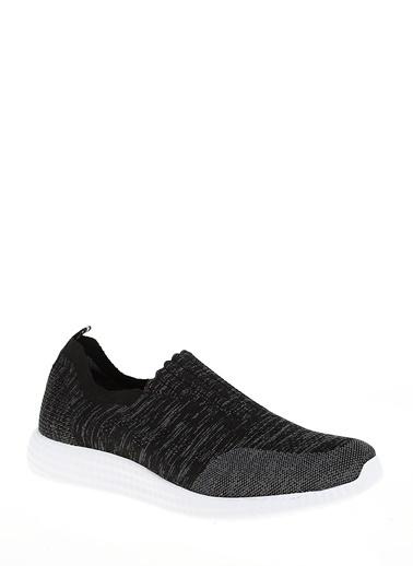 D by Divarese Çorap Stili Spor Ayakkabı Siyah